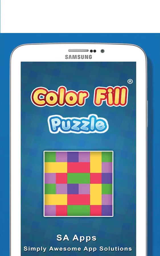 Color Fill Puzzle for Android android, puzzle, colors ...