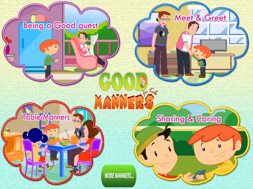 essays on good manners for kids